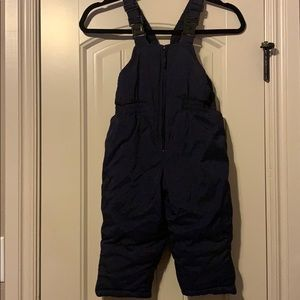 Other - 3T zip up ski bib overalls